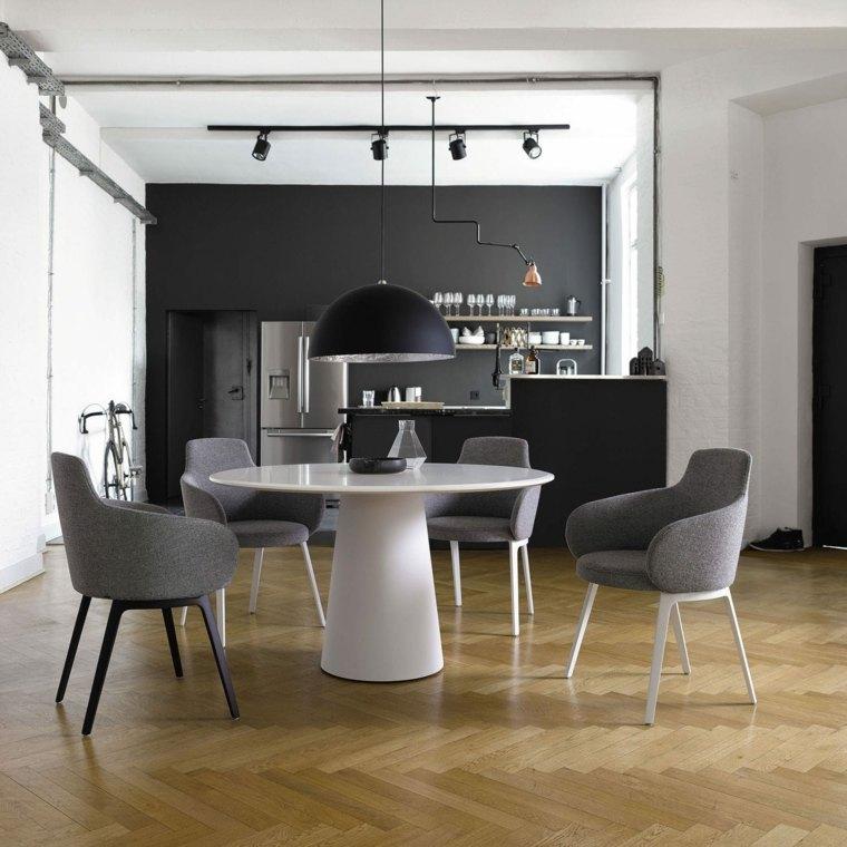 Muebles de comedor modernos las tendencias para el 2018 for Muebles modernos para comedores pequenos