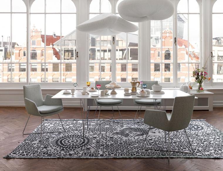 Muebles de comedor modernos las tendencias para el 2018 for Modelos sillones para living modernos