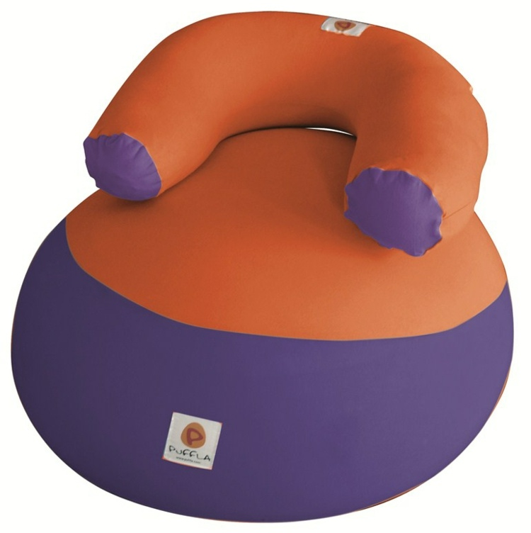 concepto inflable asiento infantil
