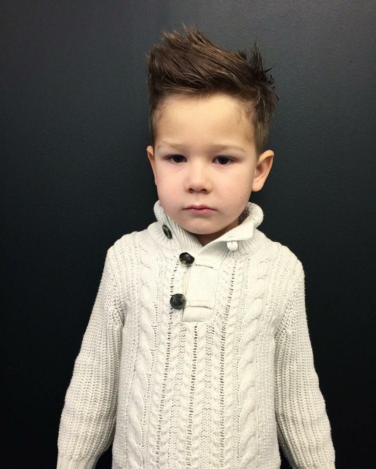 corte cabello niño moderno
