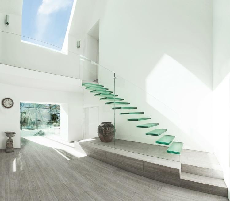 cristales escaleras barandillas casa