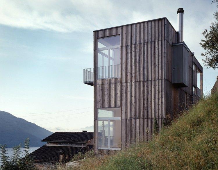 diseño vertical moderno casa