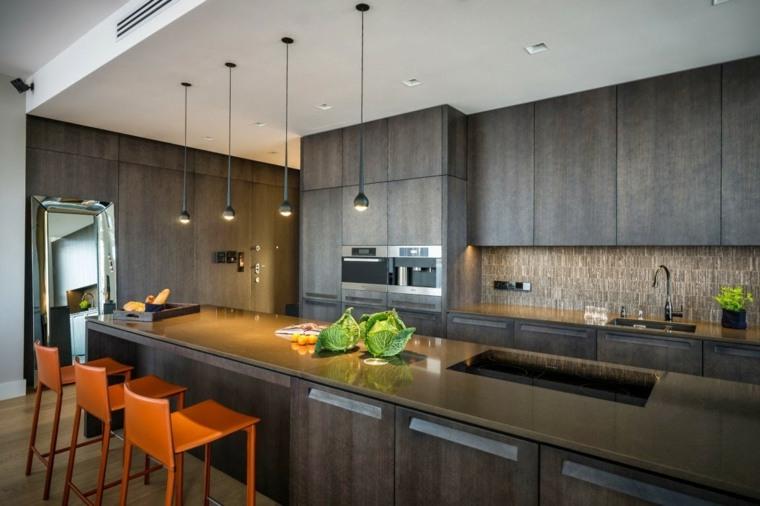 disenos-de-cocinas-estilo-contemporaneo-colores-oscuros