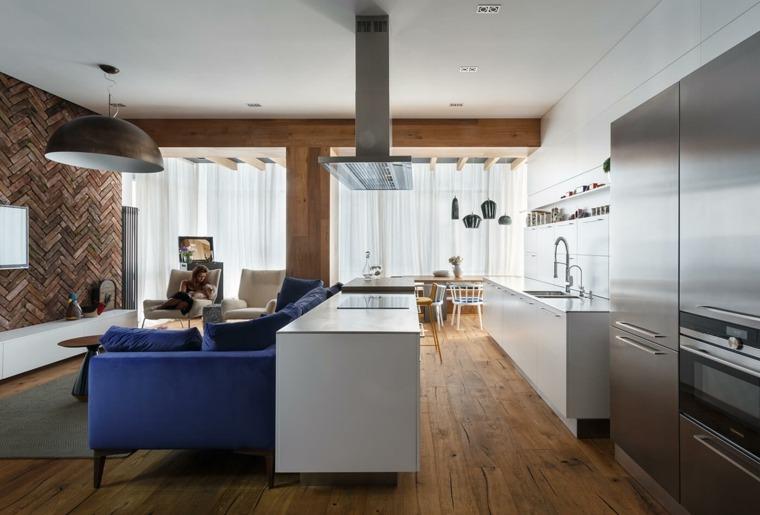 diseños de cocinas -estilo-contemporaneo-estilo