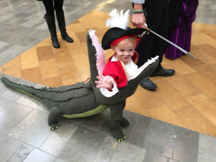 disfraces de Halloween ideas capitan hook