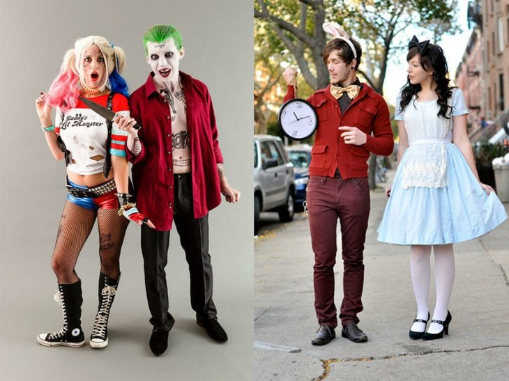 disfraces de Halloween ideas parejas