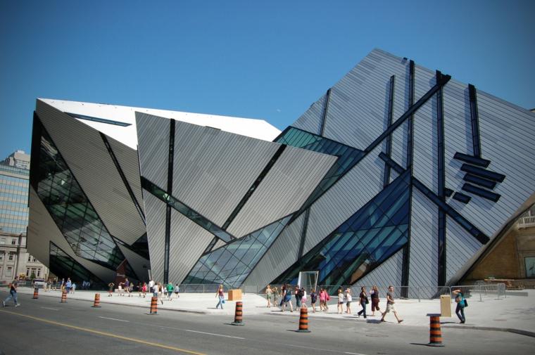 original dsieño de arquitectura deconstructivista