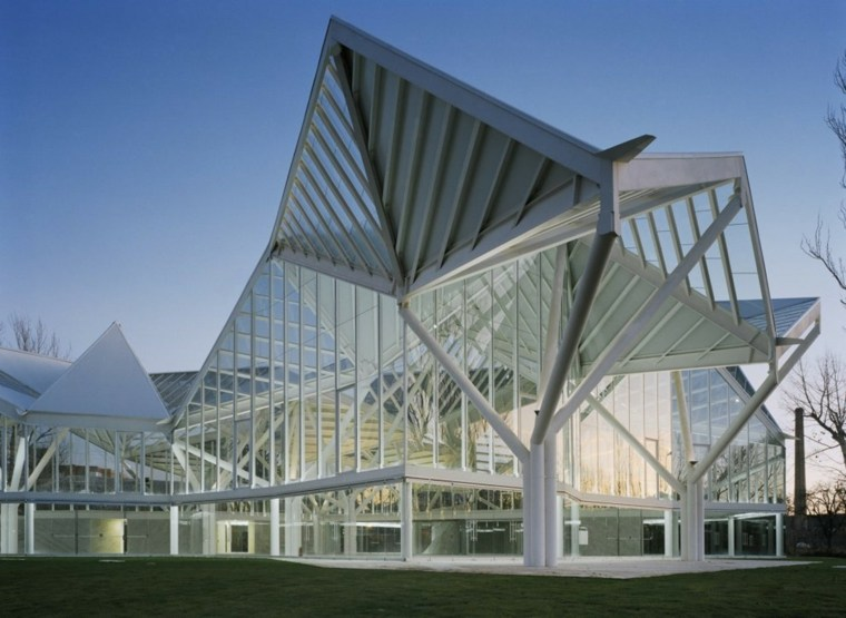 Origami en arquitectura conoce los edificios m s for El concepto de arquitectura