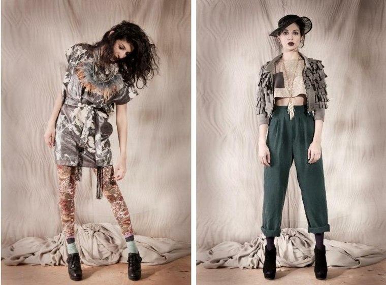 efecto sencillo moda femenina moderna