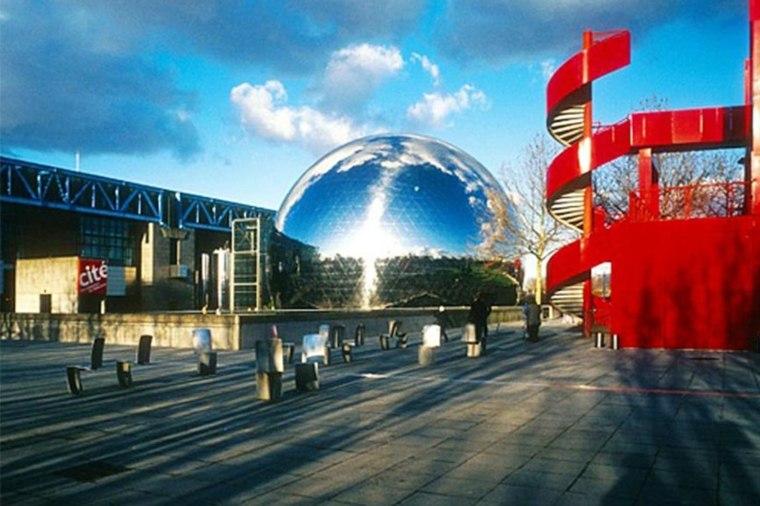 Parc de la Villette en París