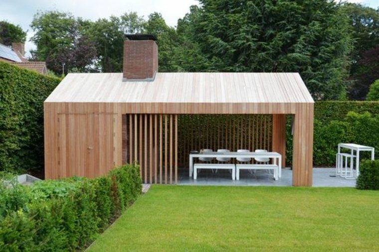 diseño de salón de jardín
