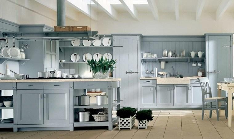 Estantes abiertos para cocina – ideas de almacenamiento modernas y  funcionales ... c7f8020b13b4