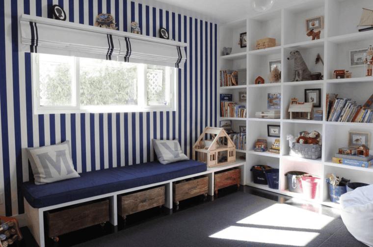 decoración de dormitorios e ideas de almacenamiento