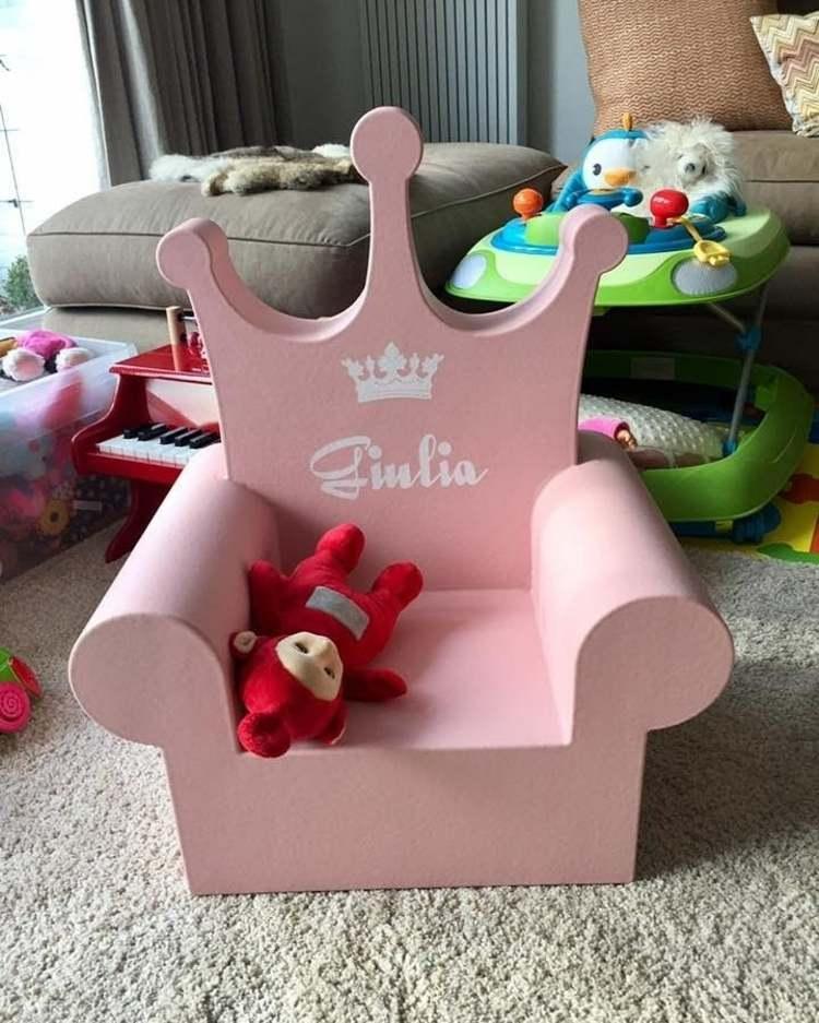 estilo rosa personalizado princesa
