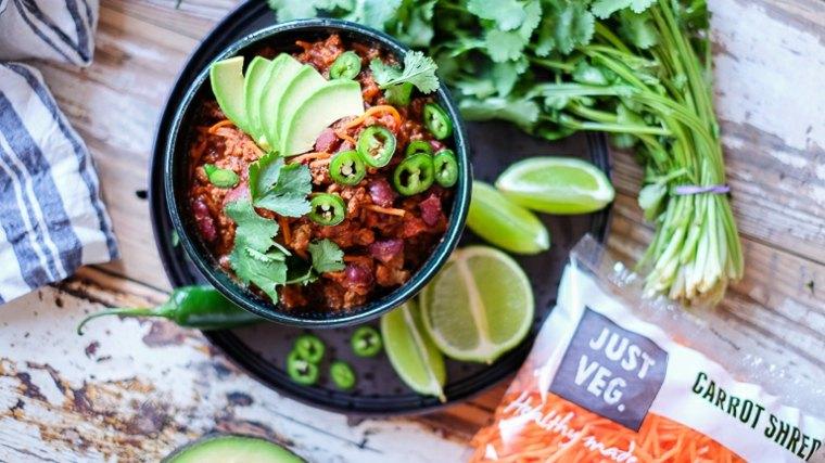 chili con carne vegetariano
