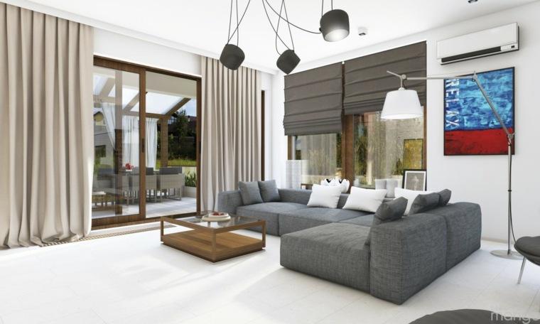 estupendo diseño de sala de estar minimalista