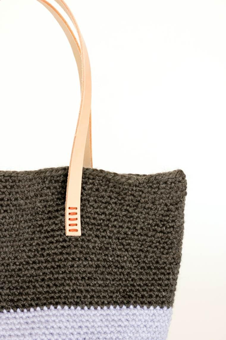 diseño de bolso de trapillo
