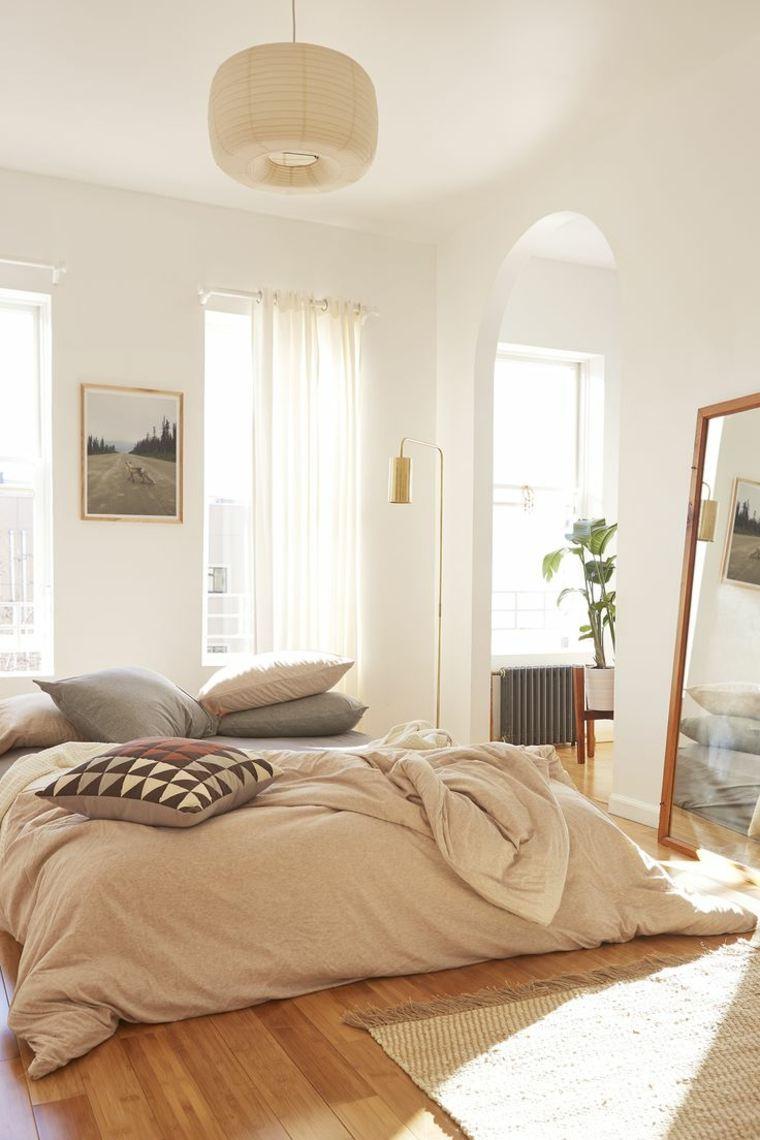 decoración de dormitorios minimalistas