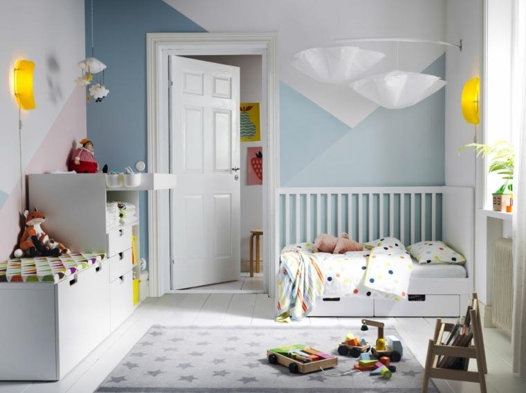 habitaciones-para-ninos-consejos-organizacion-blanco-azul