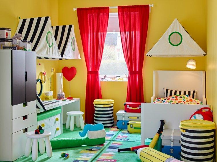 habitaciones-para-ninos-consejos-organizacion-color-amarillo