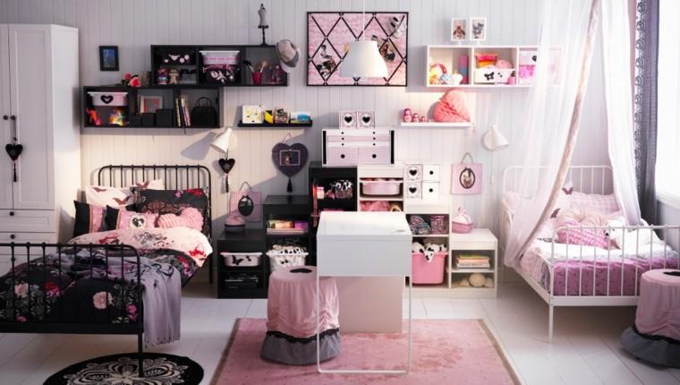 habitaciones para niños-consejos-organizacion-ideas-chicas