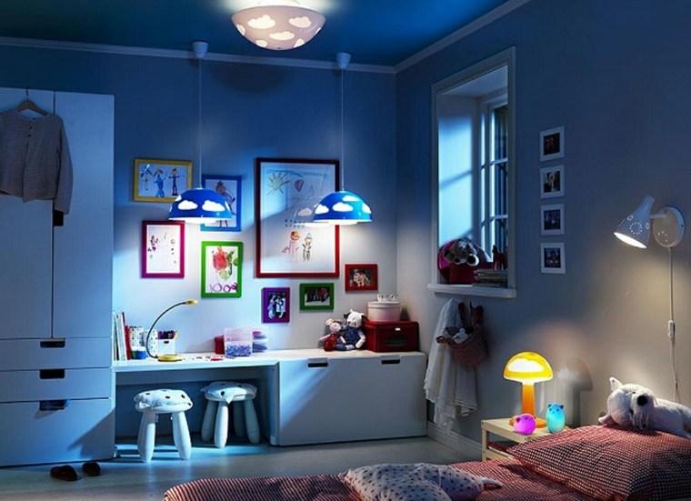 habitaciones para niños-consejos-organizacion-iluminacion