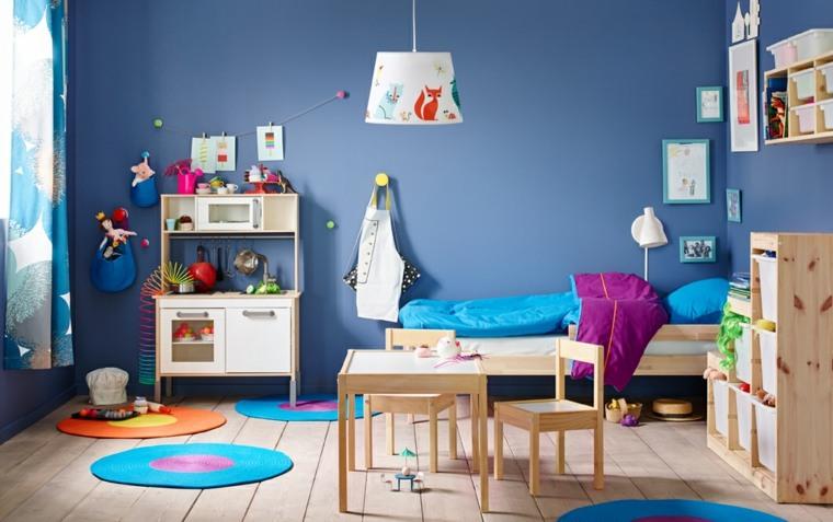habitaciones para niños-consejos-organizacion-madera-natural