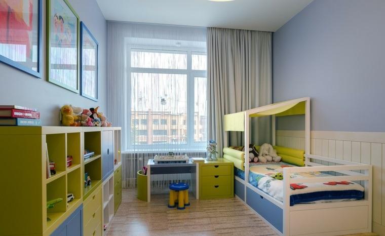 habitaciones-para-ninos-consejos-organizacion-muebles-distintos-colores