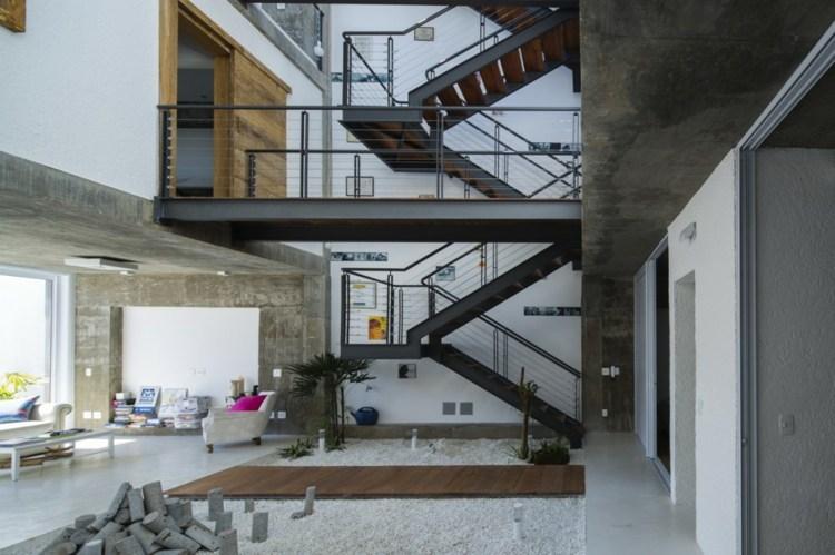 idea acero adera casa moderna