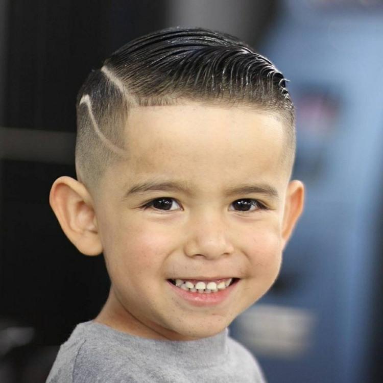 idea moderna peinado niños