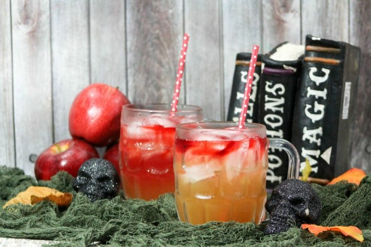 deliciosa bebida para Halloween