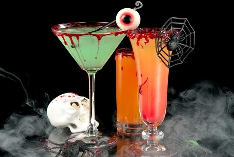 originales bebidas para Halloween