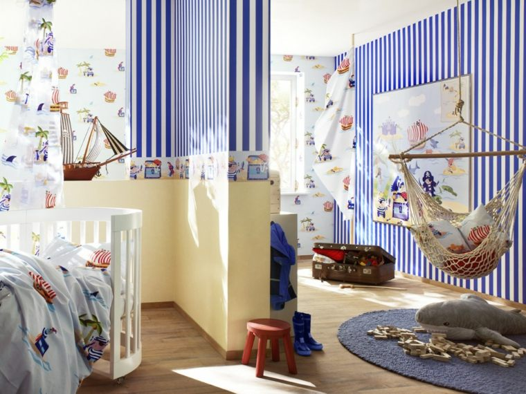 ideas-decorar-pared-dormitorio-infantil-opciones