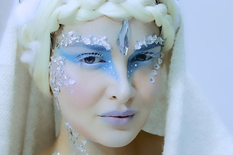 ideas-maquillaje-reina-hielo-nieve