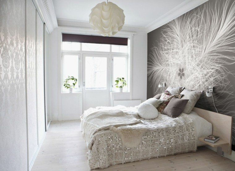 ideas para decorar paredes-acento-espacios-pequenos