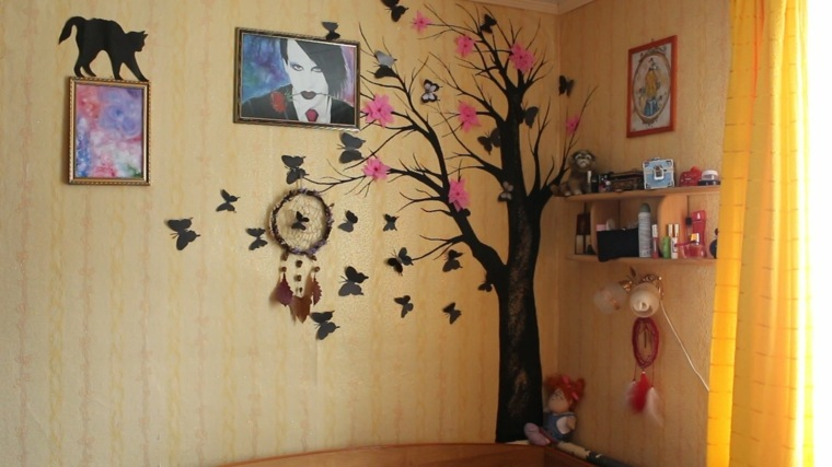 ideas-para-decorar-paredes-detalle-arbol-pared-opciones