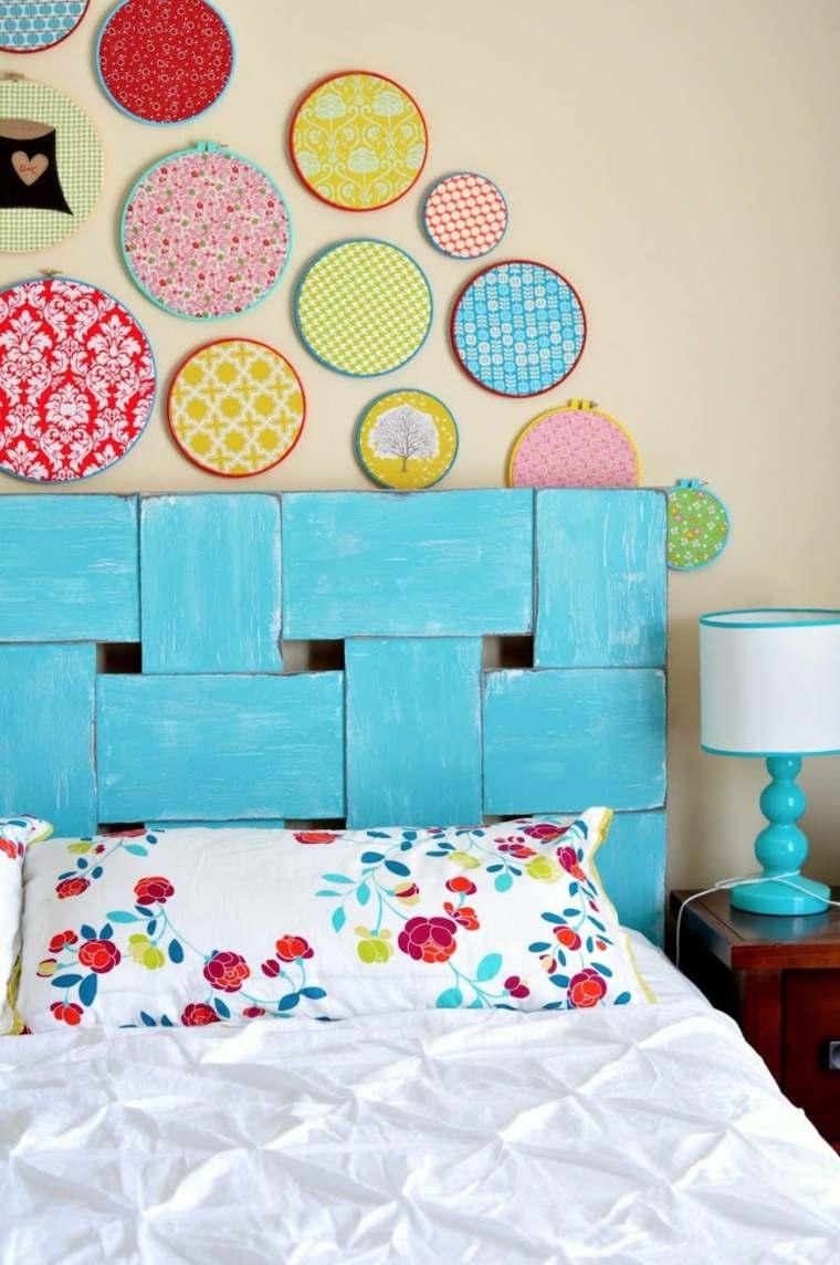 ideas para decorar paredes-habitaciones-adolescentes-colores