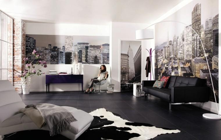 ideas-para-decorar-paredes-opciones-originales-estampa