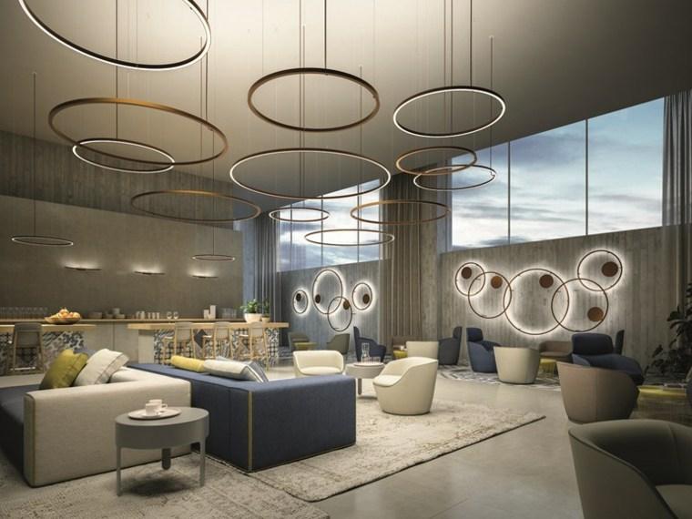 Iluminaci n interior ideas y consejos para cualquier habitaci n - Iluminacion de techos ...