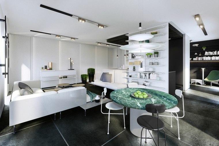iluminación interior salon-comedor-opciones