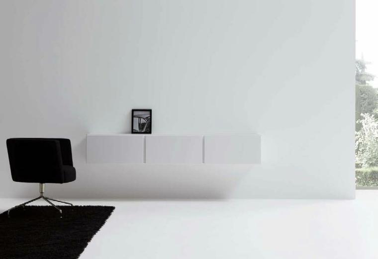 salón de estilo minimalista