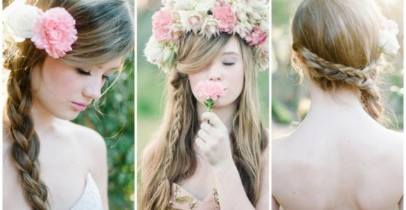 Peinados para boda - ideas para invitadas con cabello largo