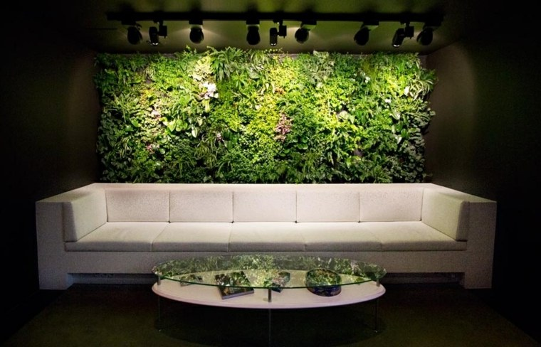 Jardines Verticales De Interior Decorar Oficinas Con