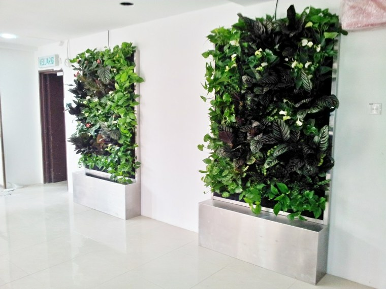 interior vertical gardens for offices