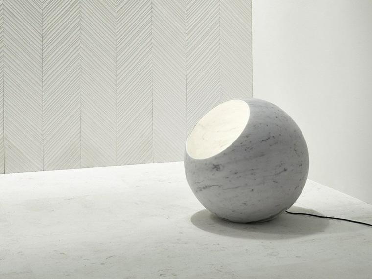 lampara suelo marmol urano