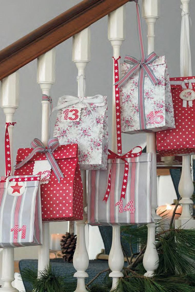 manualidades de navidad-calendario-adviento-opciones