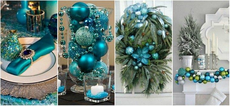 manualidades-de navidad-color-azul