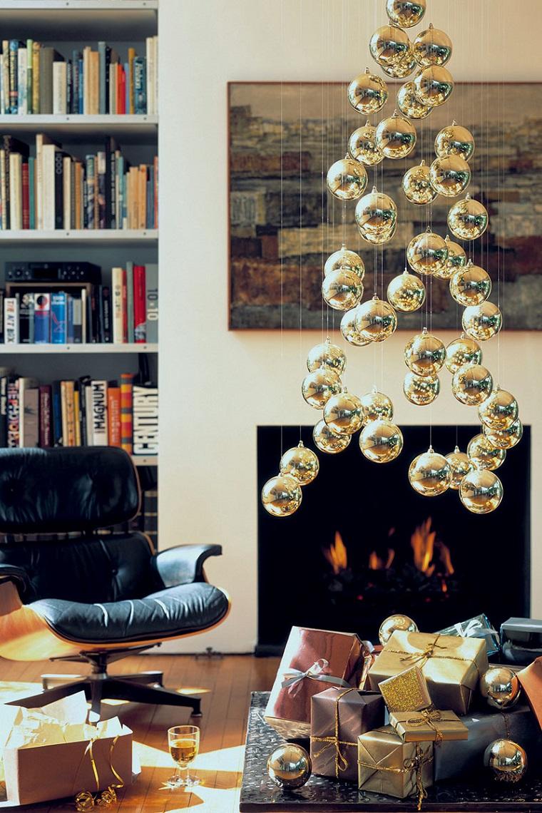 manualidades de navidad-opciones-alternativas-arbol-navidad