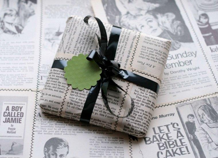 manualidades-de navidad-papel-periodico-opciones