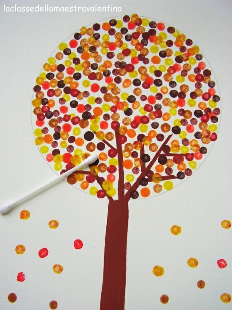 originales manualidades otoño